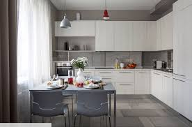 modern kitchen design idea kitchen design ideas minimalist kitchen set white colors