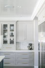 gray kitchen cabinets with white trim gorgeous light grey cabinets marbled countertops