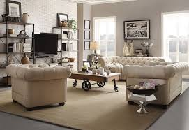 Tufted Chesterfield Sofa by Chesterfield Sofa
