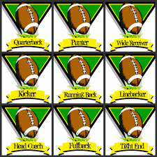 simply creative insanity free football printables