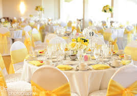 Yellow Table L 46 Best Wedding Table Settings Wedding Table Settings Stock
