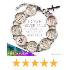personalized charms scriptcharms christian bible verse charm bracelets necklaces