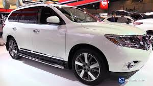 nissan pathfinder youtube 2015 2016 nissan pathfinder platinum 4rm exterior and interior