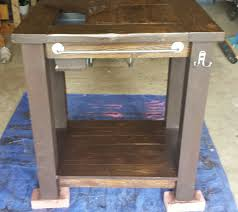 diy grill table plans grill prep table with built in cooler do it yourself home projects