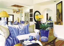 Blue And Yellow Home Decor by Noble Blue Color Shades For Rich Interior Design And Decor