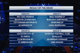 the uefa champions league draw mirror online