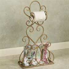 gianna toilet paper magazine rack