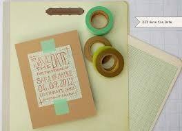 save the date ideas diy diy chic graph paper save the dates