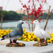 garden decorative outdoor garden ornaments simulation dove resin