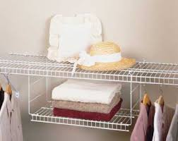 closetmaid wire extender shelves apartment therapy