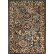 Home Depot Rug Pad Rizzy Home Bellevue Collection Brown 7 Ft 10 In X 10 Ft 10 In