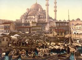 Constantinople Ottoman Empire Vintage Photo Of Constantinople Istanbul Yeni Cami 1895 Ottoman