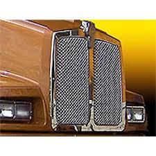 kenworth grilles inserts big rig chrome shop semi truck chrome