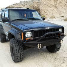 prerunner jeep comanche jeep cherokee xj front winch bumper jeep xj smittybilt xrc front
