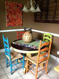 mexican style dining chairs mexican style dining table old table