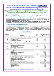 iso 50001 standard certification documents pdf flipbook
