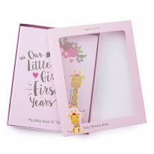baby girl memory book ronica memory book for baby girl jungle theme