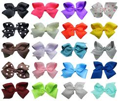bows for hair 4 boutique hair bows 20 assortment hairbows