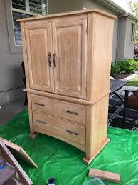 Painted Armoire Furniture Milk Paint Armoire Renovation Sawdust Sisters