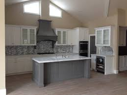 shaker kitchen island shaker white kitchen fluted grey island style kitchen