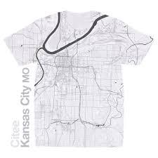 Mo Map Citee Fashion Usa Map T Shirts
