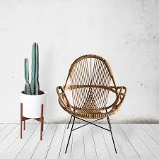 chair modern modern handwoven rattan chairs from wend design milk