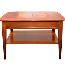 Mid Century Modern Sofa Table by Stanley Furniture Mid Century Modern Walnut End Table Ebth