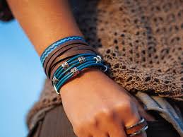 leather wrap bracelet women images Leather wrap bracelet women bracelet gift for women mens jpg