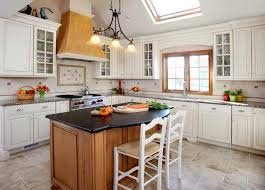 white kitchen cabinets wood trim can you stained trim with white painted cabinets