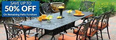 Cast Iron Patio Table And Chairs by Cast Aluminum Patio Furniture Outdoor Furniture The Great Escape