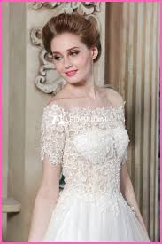 wedding dress malaysia ce1497 shoulder a line see through corset lace malaysia