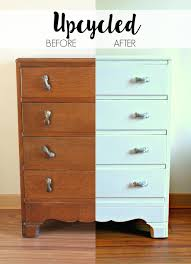 upcycling an old chest of drawers rust oleum furniture paint