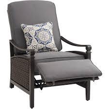 Lay Z Boy Furniture La Z Boy Breckenridge Wicker Outdoor Recliner With Sunbrella