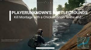 pubg 3rd person pubg 3rd person solo kill montage with a chicken dinner youtube