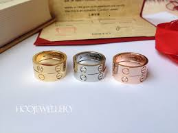 cartier rings gold images Cartier love ring yellow gold pink gold and white gold jpg