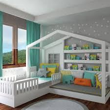 bibliotheque chambre enfant diy lit cabane enfant meuble canape chambre enfant meuble