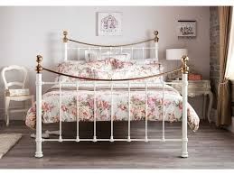Brass Bed Frames Ivory Or Black Brass Metal Bed Frames