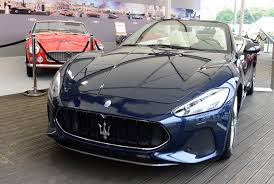 maserati grancabrio sport 2018 maserati granturismo and grancabrio star at goodwood festival