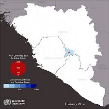 africa map 2014 who ebola maps