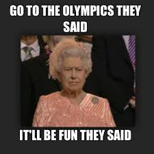 Elizabeth Meme - meme watch unimpressed queen elizabeth wants those darn olympics