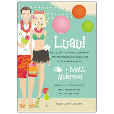 luau invitations luau party invitations paperstyle