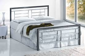 bedroom furniture metal and wood bed frame king bed cast iron