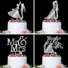 letter cake topper acrylic mr mrs cake topper cupcake topper party insert