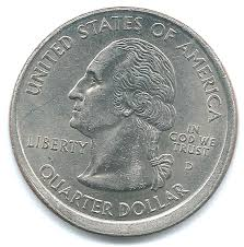 First State Quarters Of The United States Collectors Map by Top 10 Rarest State Quarters Ebay