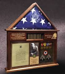 3x5 Flag Display Case With Certificate Custom Designed Flag Cases For Any Flag Size