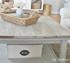 white washed wood coffee table home for you desmond whitewash