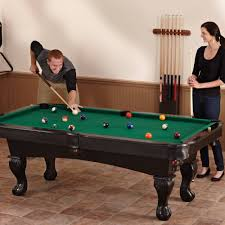 gamepower sports pool table fat cat 7 kansas billiard table with ball and claw legs walmart com