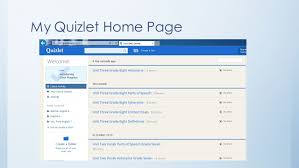 quizlet tutorial video quizlet and padlet let ting technology live in the classroom ppt