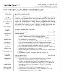 best administrative resume 17 free word pdf documents download