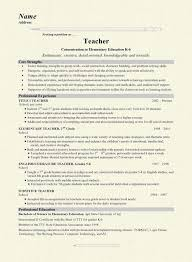 Sample Music Teacher Resume by Preschool Teacher Resume Sample Page 1 Curriculum Vitae